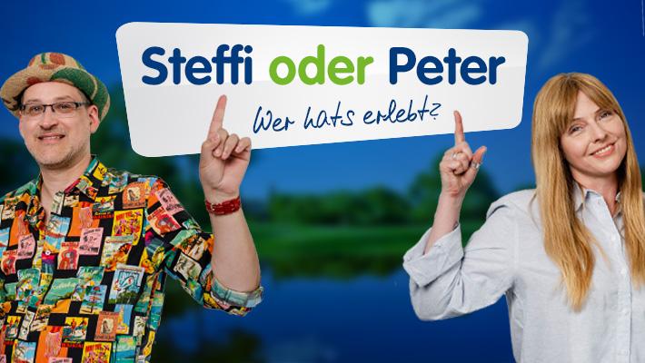 Steffi oder Peter? Raten Sie mit!