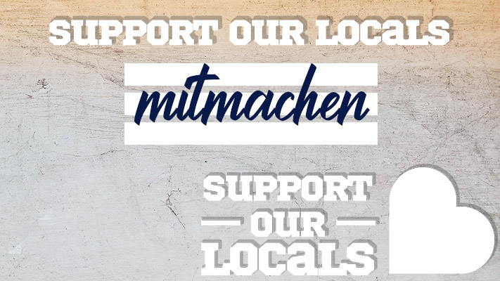 Support Our Locals - Mitmachen