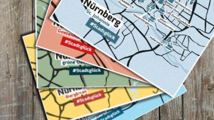 5 neue Postkarten für Nürnberg